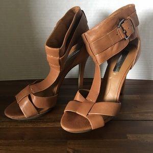 BCBG Brown Stilleto Heels Size 7